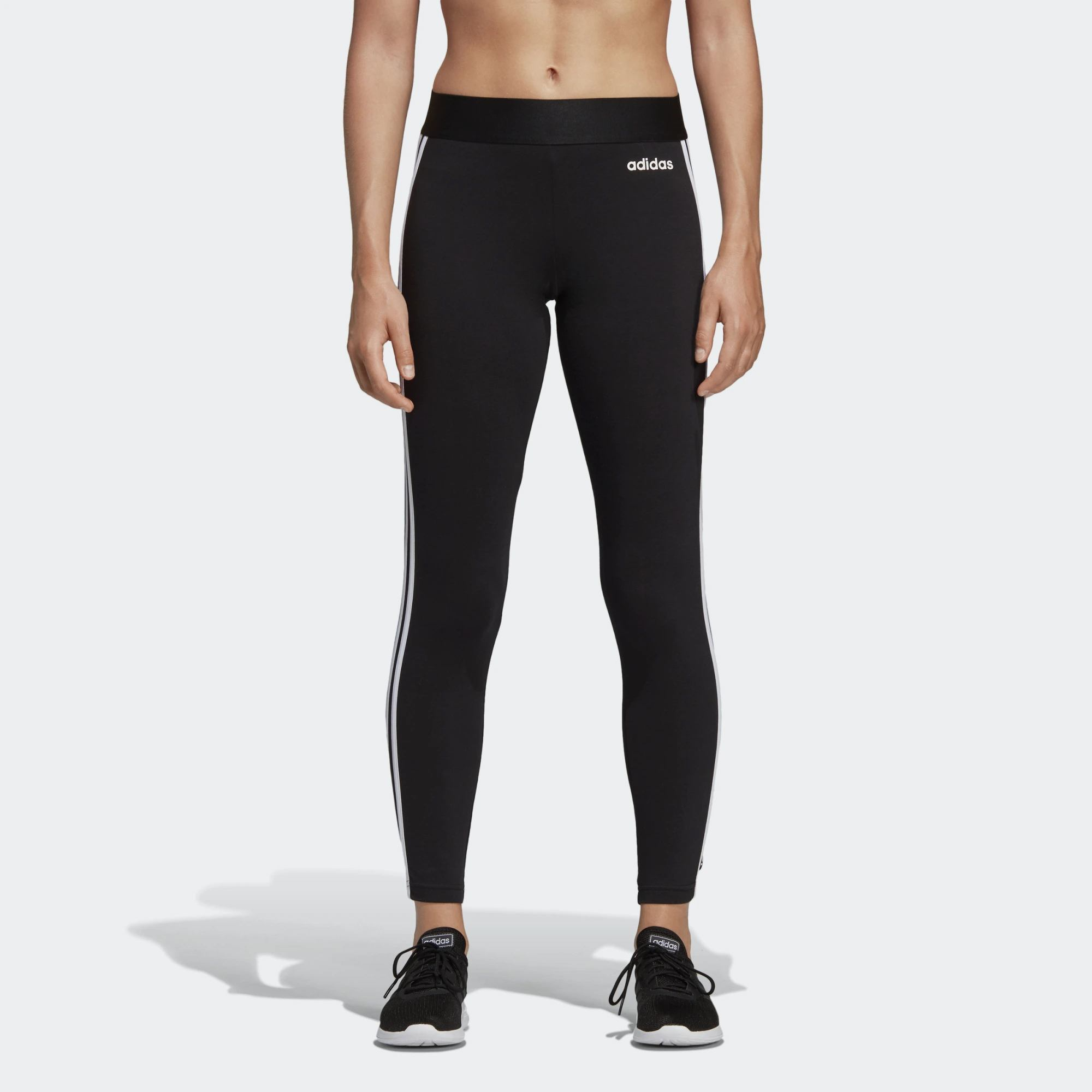 adidas Core Essentials 3-Stripes Women's Tights (DP2389)