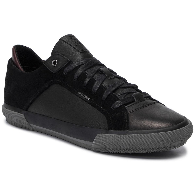 Geox U Kaven - Men's Leather Sneakers (U946MB 022ME C9997)