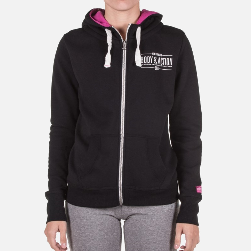 Body Action Hooded Jacket (071725 Black)