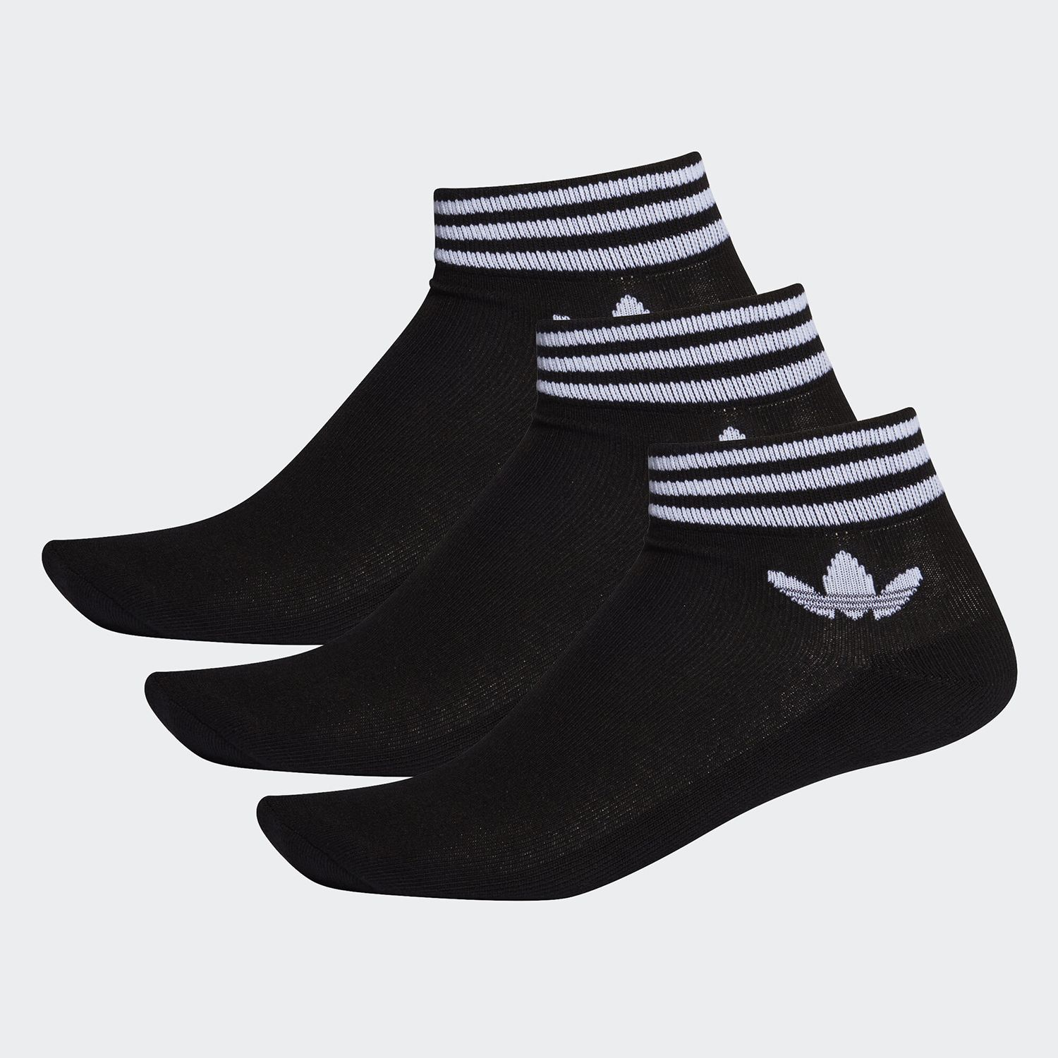 adidas Originals Trefoil Ankle Socks 3 Pairs (EE1151)