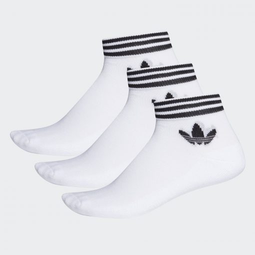 adidas Originals Trefoil Ankle Socks 3 Pairs (EE1152)