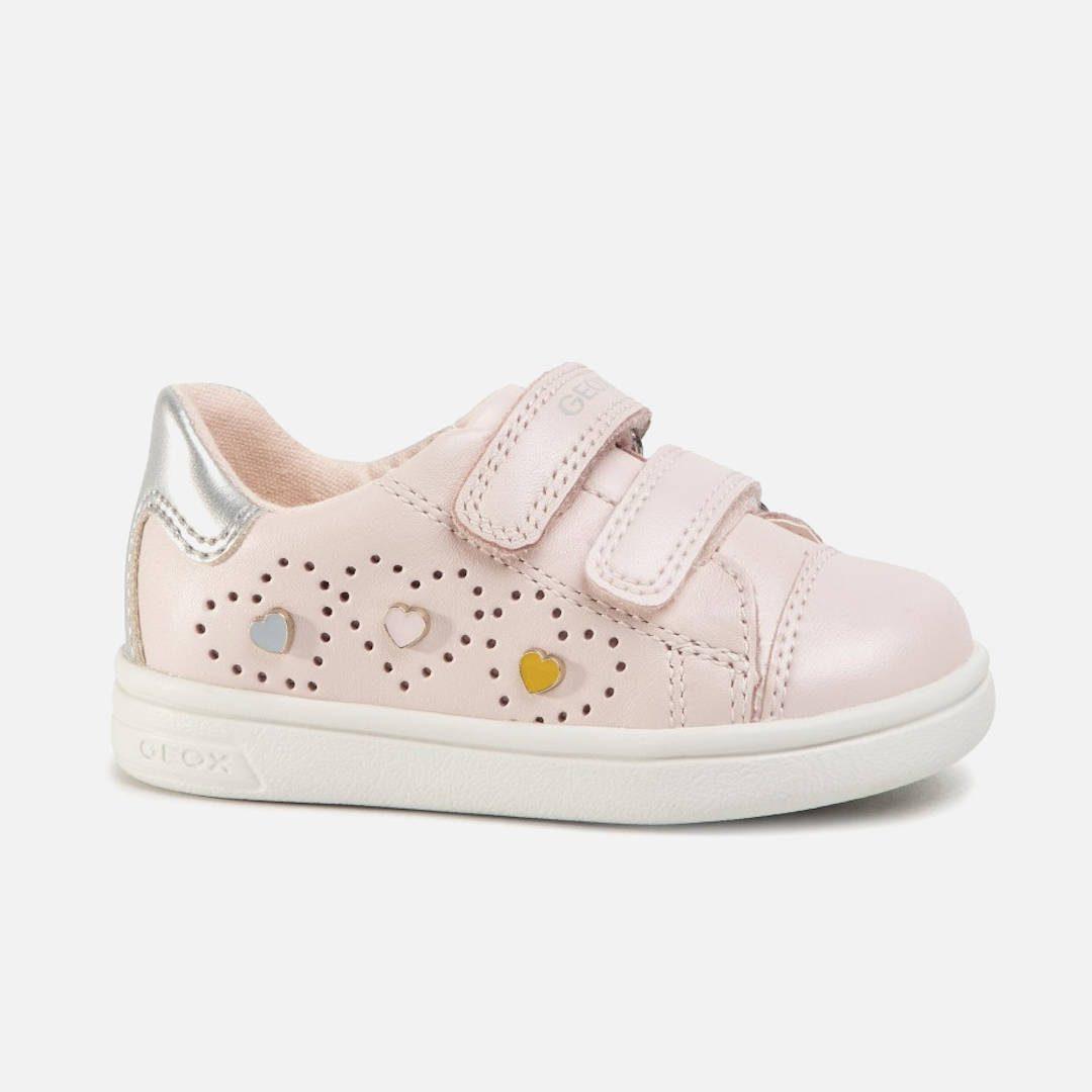 GEOX B DJRock - Bρεφικά Δερμάτινα Παπούτσια