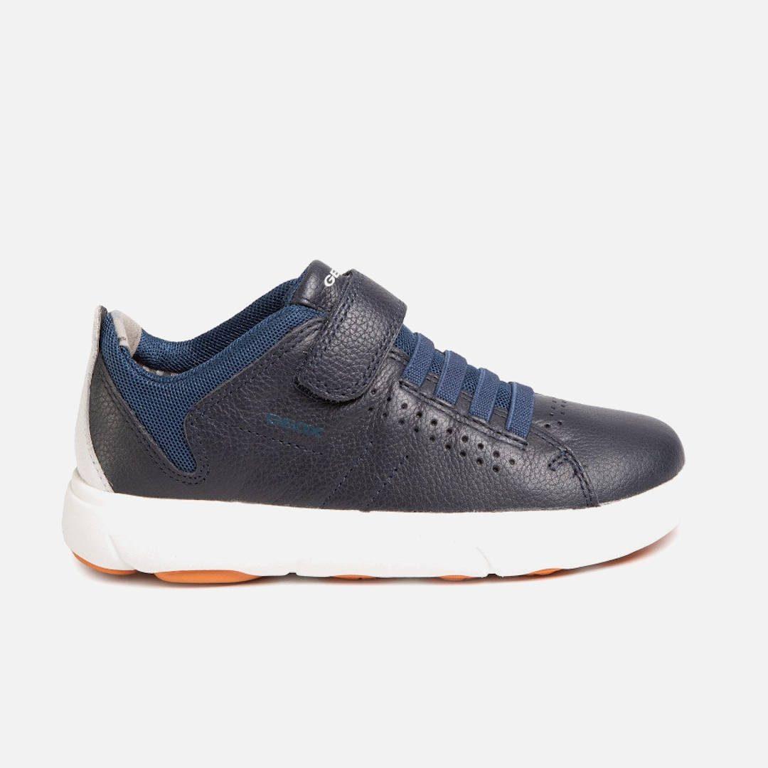 GEOX J Nebcup B.B -Δερμάτινα Παιδικά Sneakers