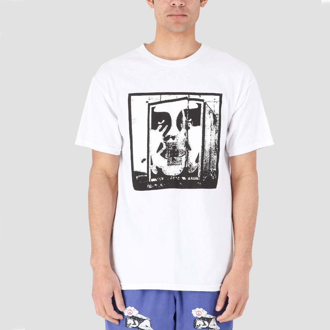 OBEY Bomb The Planet Men's Tee