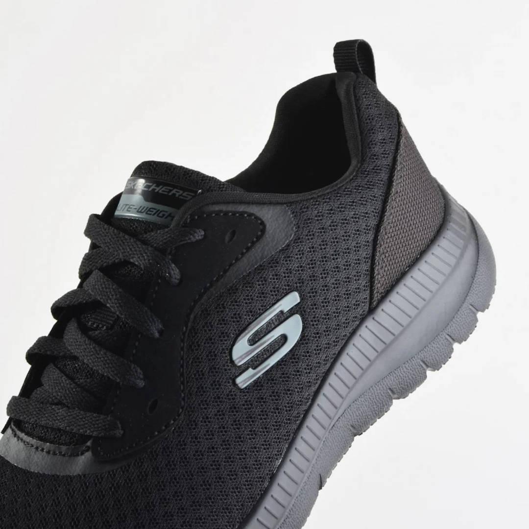 Skechers Lace Up Memory Foam Γυναικεία Παπούτσια (12606 BBK)
