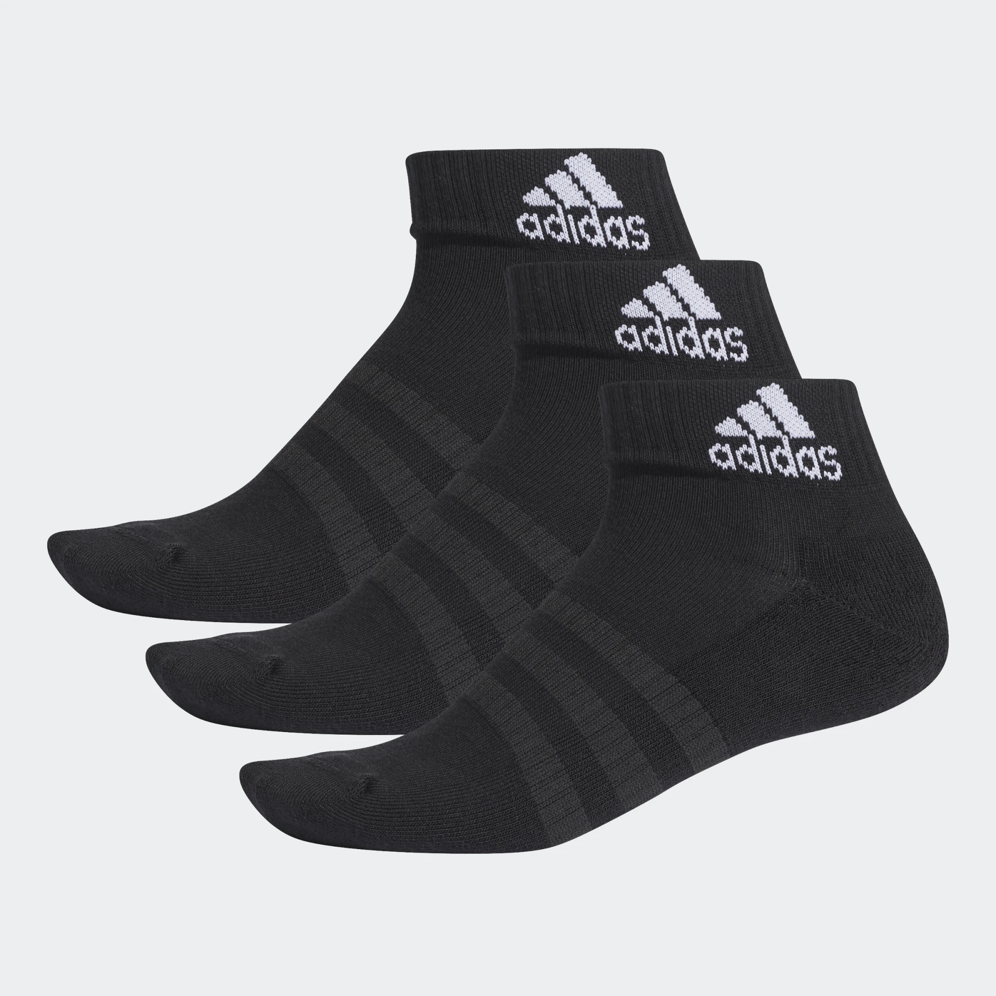 adidas Cushioned Ankle Socks 3PP
